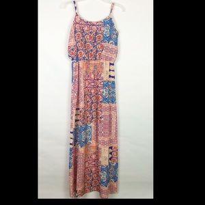 A byer patterned maxi dress